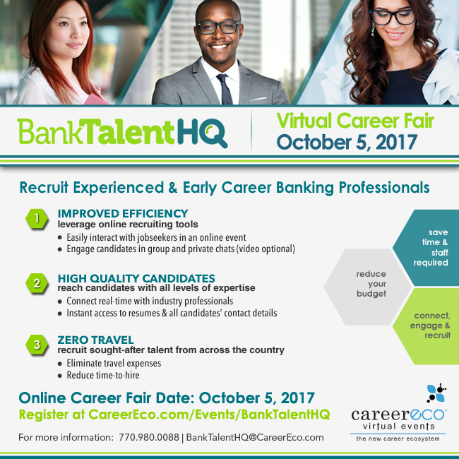 BankTalentHQ Virtual Career Fair image